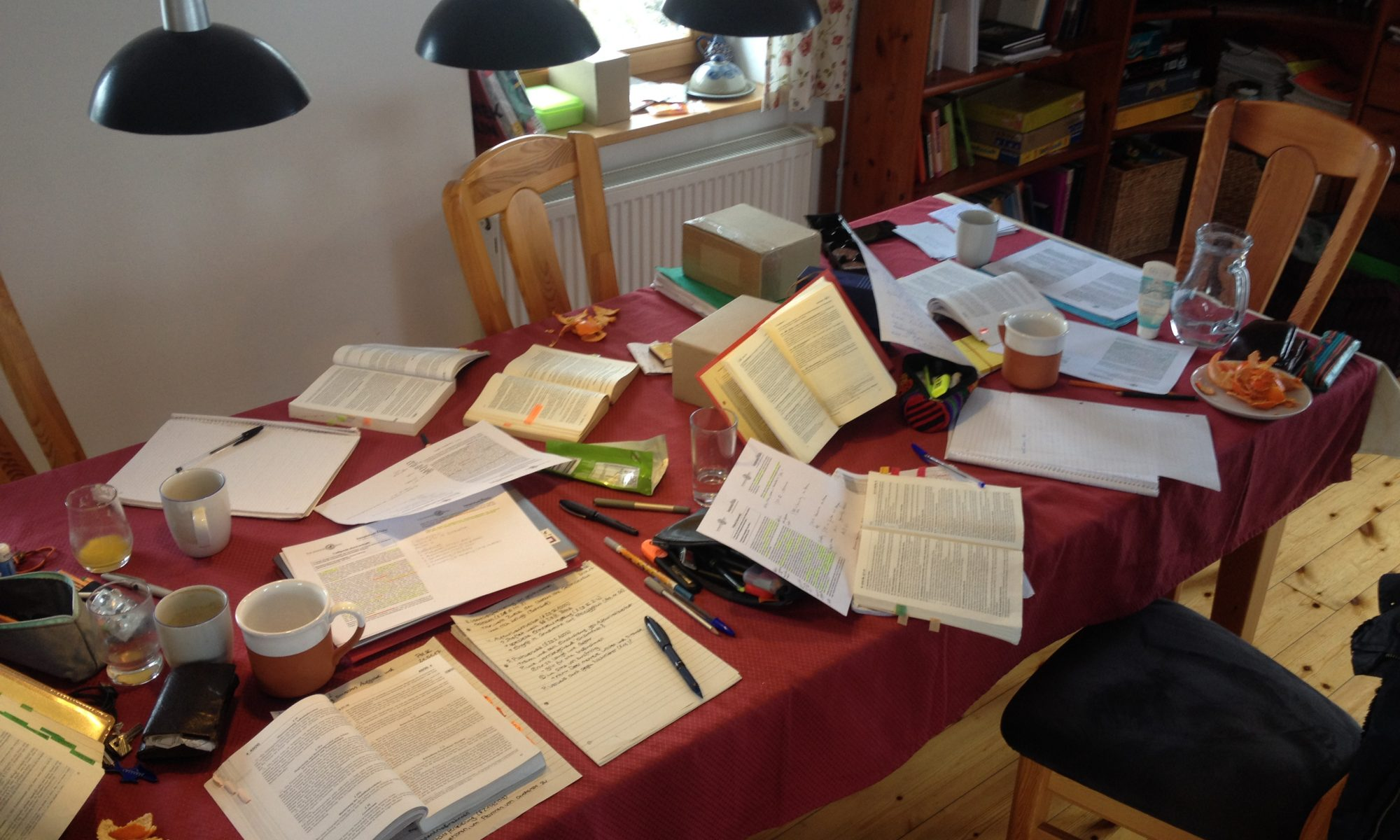 Juristisches Examen im Team